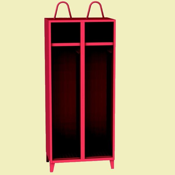 Šatní skříně pro hasiče HAN_42_B