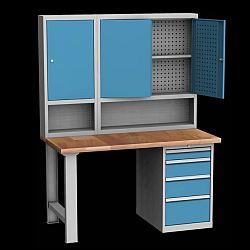 Příklady sestav stolů: ponk DPS 15