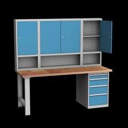 Příklady sestav stolů: ponk DPS 25