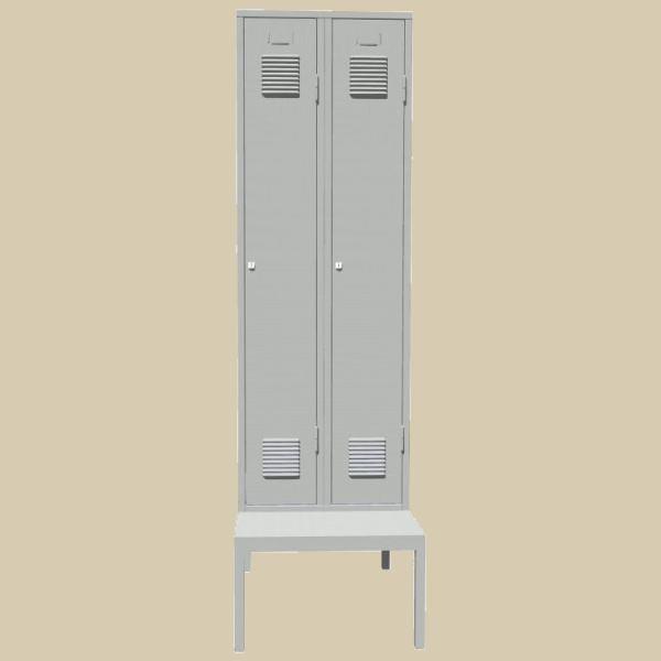 Šatní skříně na lavičce SAL 32A