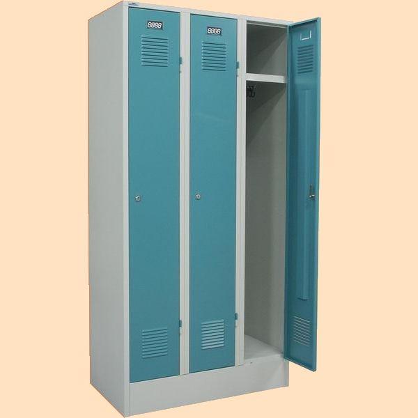 Šatní skříně svařené trojdílná K 2445